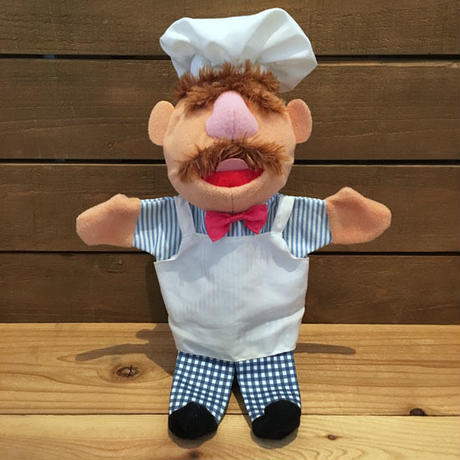 THE MUPPETS The Swedish Chef Hand Puppet/マペッツ スエディッシュ・シェフ ハンドパペット/181024-4
