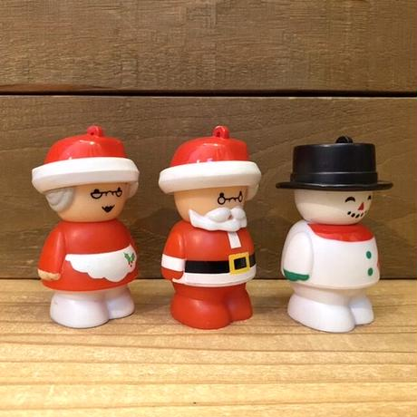 Chunky Christmas People Ornament Toy Set/チャンキー クリスマスピープル オーナメントトイ 全6種セット/201119-1