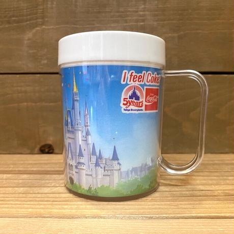Disney TDL 5years Plastic Cup/ディズニー 東京ディズニーランド 5周年プラスチックカップ/210409−8