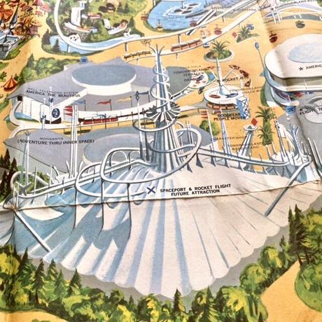 Disney Disneyland Map/ディズニー ディズニーランドのマップ/210224-10