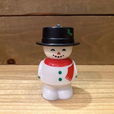 Chunky Christmas People Snow Man Ornament Toy/チャンキー クリスマスピープル スノーマン オーナメントトイ/201119-4