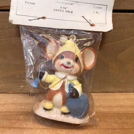 Santa Mice Ornament/サンタマウス オーナメント/201119-7
