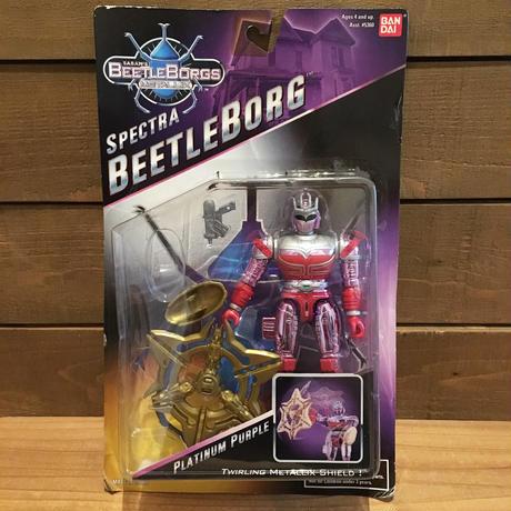 BEETLE BORGS METALLIX Platinum Purple Figure/ビートルボーグ・メタリックス プラチナム・パープル フィギュア/18405-2