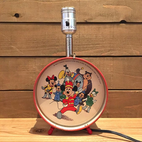 Diseny  Mickey Mouse Club Room Lamp/ディズニー ミッキーマウスクラブ ルームランプ/190512-9