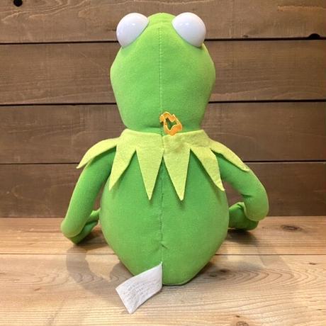 THE MUPPETS Kermit the Frog Posable Plush Doll/マペッツ カーミット ポーザブルぬいぐるみ/210615-1