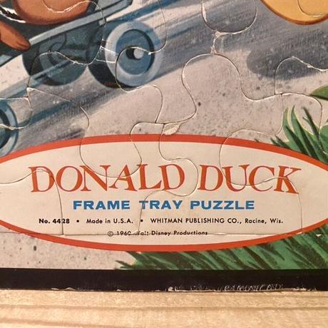 Disney Donald Duck & Chip'n Dale Tray Puzzle/ディズニー ドナルド・ダックとチップとデール フレームトレイパズル/201121-5