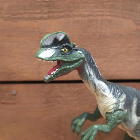 JURASSIC PARK Dilophosaurus Figure/ジュラシックパーク ディロフォサウルス フィギュア/190628-6