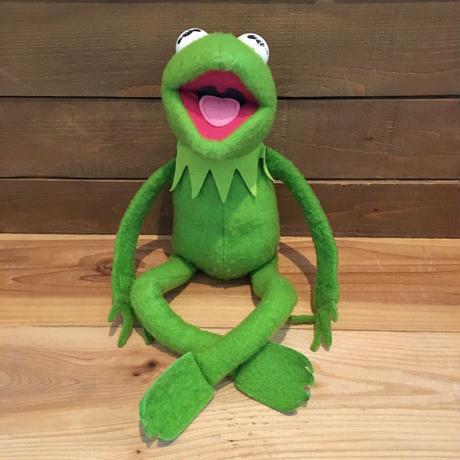 THE MUPPETS Kermit the Frog Plush Doll/マペッツ カーミット ぬいぐるみ/190913-8
