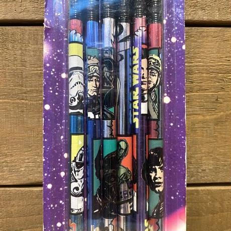 STAR WARS Foil Pencils/スターウォーズ 鉛筆セット/200829-11