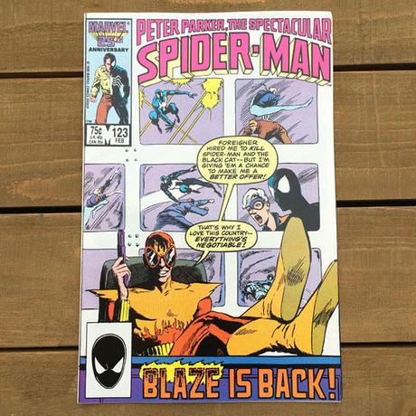 SPIDER-MAN Spider-man Comics 1986.Feb.123/スパイダーマン コミック 1986年2月123号/190705-11