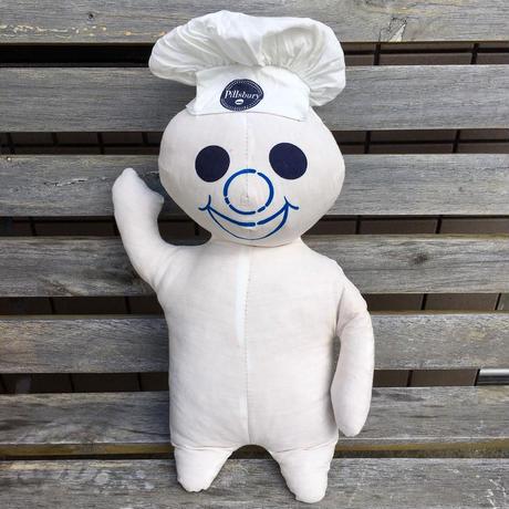 Pillsbury Poppin Fresh Cloth Doll/ピルスベリー     ポッピンフレッシュ    クロスドール/180429-3