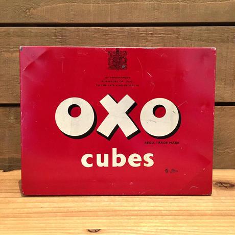 OXO cubes Tin Box/OXOキューブ 缶/190608-1