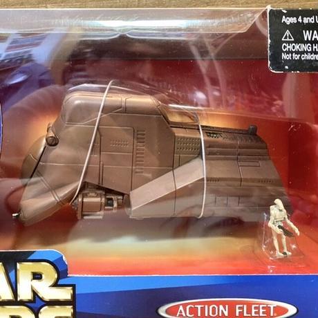 STAR WARS AF Trade Federation MTT/スターウォーズ アクションフリート・シリーズアルファ 通商連合大型兵員輸送車/201122-3