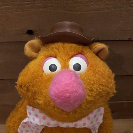 THE MUPPETS Fozzie Bear Plush Doll/マペッツ フォジー ぬいぐるみ/210217-7