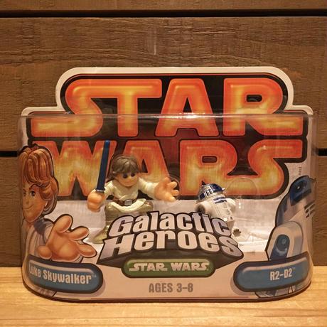 STARWARS GH Luke&R2-D2 Figure/スターウォーズ ギャラクティックヒーローズ ルーク&R2-D2 フィギュア/171216-14