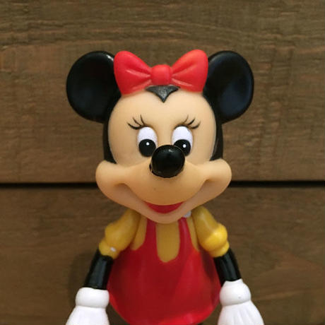 Disney Minnie Mouse Posable Figure/ディズニー ミニー・マウス ポーザブルフィギュア/190622-7