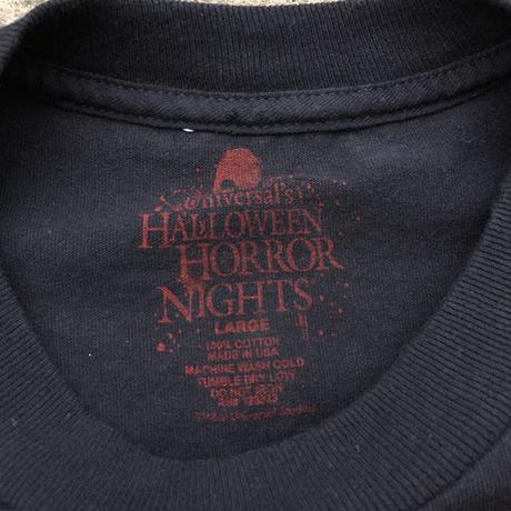 UNIVERSAL STUDIO HHN21 TShirs/ユニバーサルスタジオ ハロウィンホラーナイト21 Tシャツ/190704-1