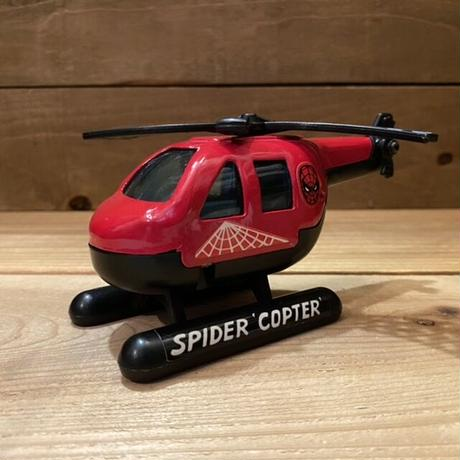 SPIDER-MAN Spider Copter Diecast Toy/スパイダーマン スパイダーコプター ダイキャストトイ/210912-17