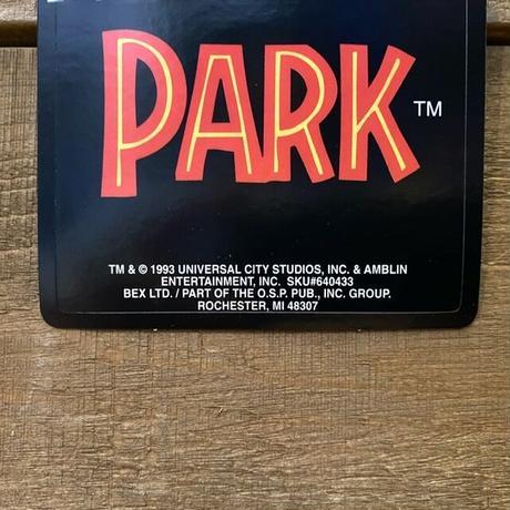 JURASSIC  PARK Sticker/ジュラシックパーク ステッカー/201109-11