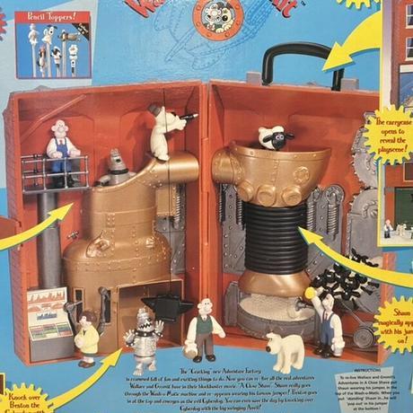 Wallece & Gromit Adventure Factory Playset/ウォレスとグルミット アドベンチャーファクトリー プレイセット/211011-9