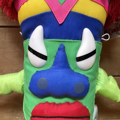 Neon Tiki Tribe Zeke Tiki Plush Doll/ネオンティキトライブ ゼケ・ティキ ぬいぐるみ/210413−27