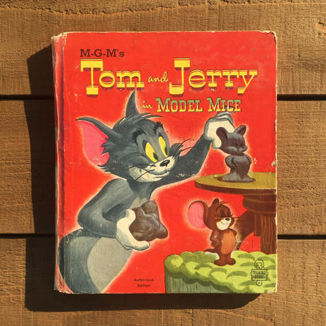 TOM & JERRY Picture Book/トムとジェリー 絵本/181210-13