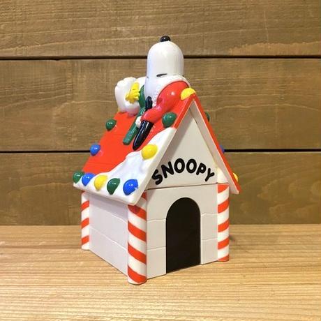 PEANUTS Snoopy Plastic Coin Bank/ピーナッツ スヌーピー 貯金箱/200714-22