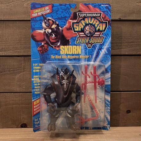 S.H SAMURAI SYBER-SQUAD Skorn Figure/スーパーヒューマン・サムライサイバースクァッド スコーン フィギュア/210218-6