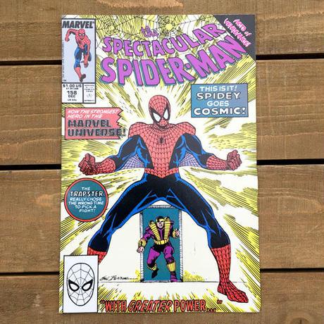 SPIDER-MAN Spider-man Comics 1989.Dec.158/スパイダーマン コミック 1989年12月158号/190705-9