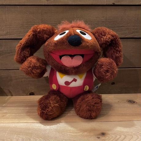 THE MUPPETS Baby Rowlf Plush Doll/マペッツ ベイビー・ロルフ ぬいぐるみ/210217-8