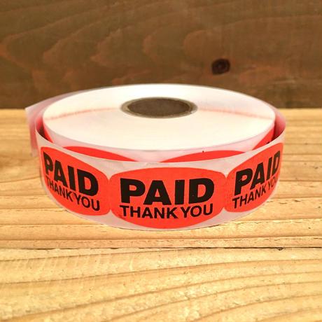Paid Sticker 100pcs Set/ペイド ステッカー  100枚セット/190506-11