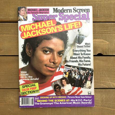 MICHAEL JACKSON Modern Screen SS No.6/マイケル・ジャクソン モダンスクリーン スーパースペシャルNo.6/190620-16