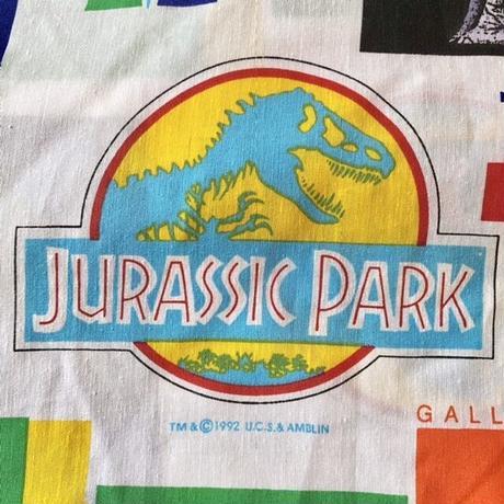 JURASSIC PARK Single Fit Sheets/ジュラシックパーク シングルフィットシーツ/211013-2