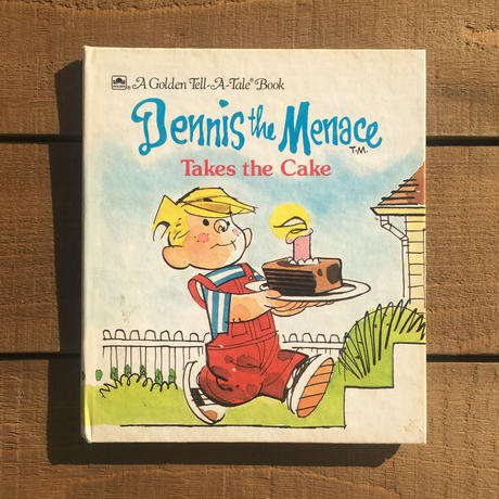 Dennis the Menace Picture Book/わんぱくデニス 絵本/181210-2