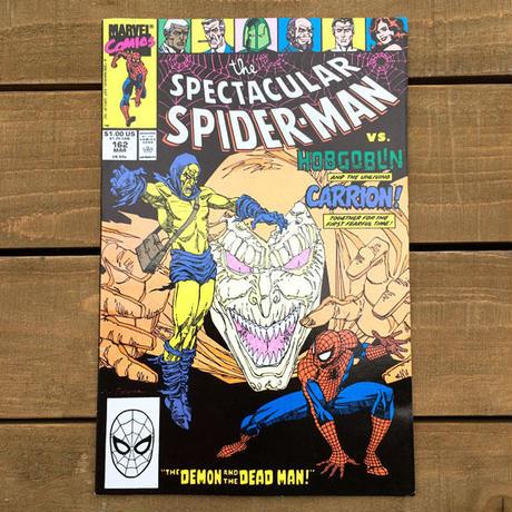 SPIDER-MAN Spider-man Comics 1990.Mar.162/スパイダーマン コミック 1990年3月162号/190705-6