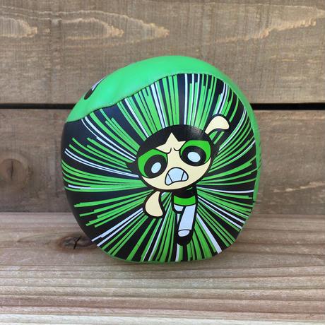 POWERPUFF GIRLS Buttercup Soft Ball/パワーパフガールズ バターカップ ソフトボール/170203-13