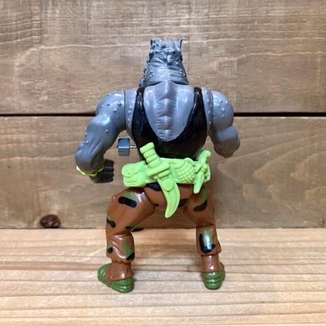 TURTLES Machine Gunnin' Rocksteady Figure/タートルズ ロックステディ フィギュア/210413−4