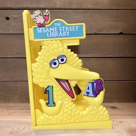 SESAME STREET Big Bird Book Case/セサミストリート ビッグバード ブックケース/210221-10