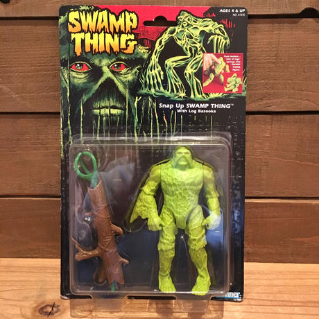 SWAMP THING Snap Up Swamp Thing Figure/スワンプシング スナップアップ・スワンプシング フィギュア/190411-6