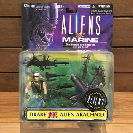 ALIENS Drake VS Alien Arachnid Figure/エイリアン ドレイク VS エイリアンアラクニッド フィギュア/190609-3