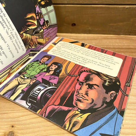 ROCKETEER Picture Book/ロケッティア 絵本/200412-7