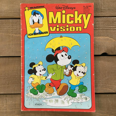 Disney Mickey Vision No.10 Comic/ディズニー ミッキーヴィジョン No.10 コミック/170419-3