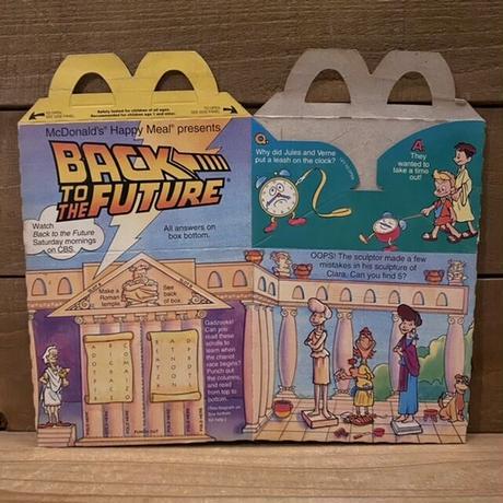 McDonald's Happy Meal Box/マクドナルド ハッピーミールボックス/210912-8