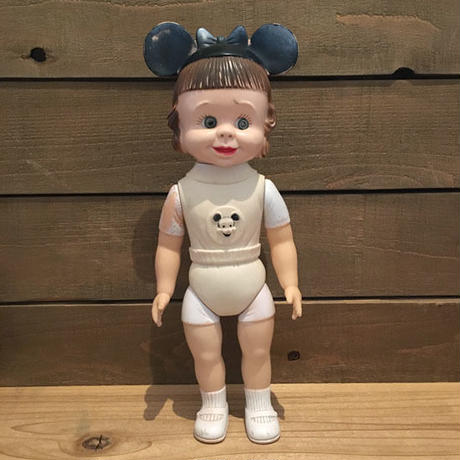 Disney Mouseketeer Girl Rubber Doll/ディズニー マウスケティアの女の子 ラバードール/190417-15
