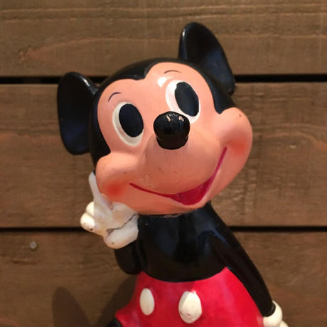 Disney Mickey Mouse Ceramic Coin Bank/ディズニー ミッキー・マウス セラミックコインバンク/190606-24