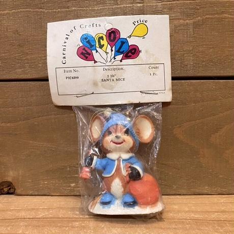 Santa Mice Ornament/サンタマウス オーナメント/201119-9