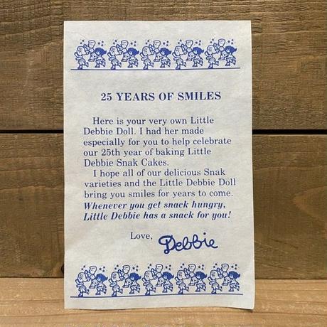 Little Debbie Debbie 25th Anniversary Doll/リトルデビー デビー 25周年記念ドール/200827-4