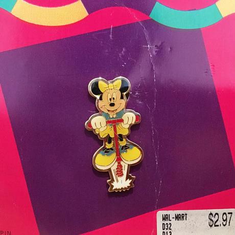 Disney Minnie Mouse Pin/ディズニー ミニー・マウス ピン/180723-4