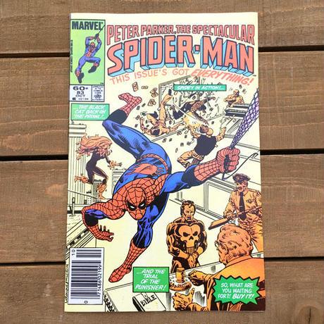 SPIDER-MAN Spider-man Comics 1983.Oct.83/スパイダーマン コミック 1983年10月83号/190705-13