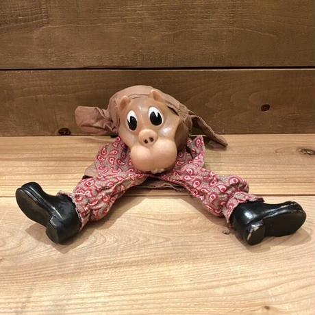 Squirrel Hand Puppet/リス ハンドパペット/210326-2
